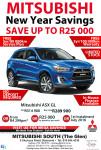 Mitsubishi South (The Glen) New Year Saving