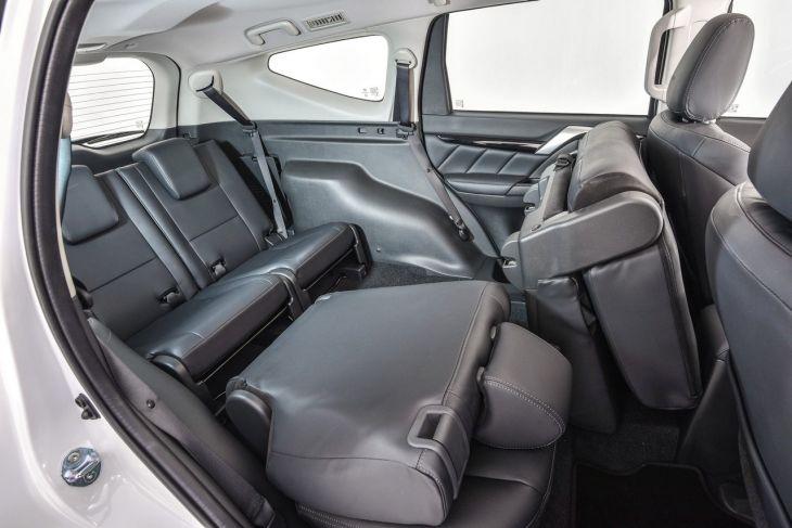 CMH mitsubishi Menlyn- Mitsubishi Pajero Sport Interior Rear