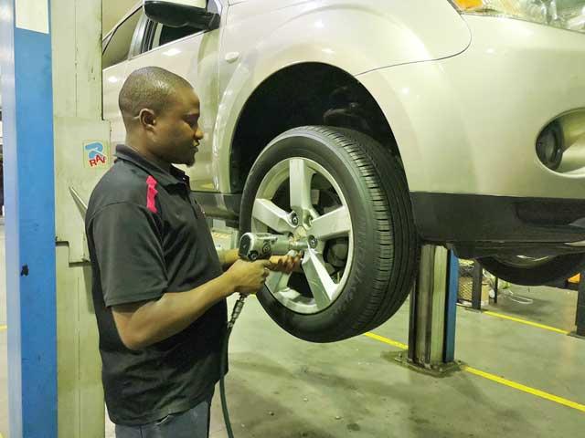 CMH Mitsubishi- check Brakes