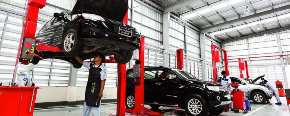 CMH Mitsubishi Menlyn- Mitsubishi Workshop