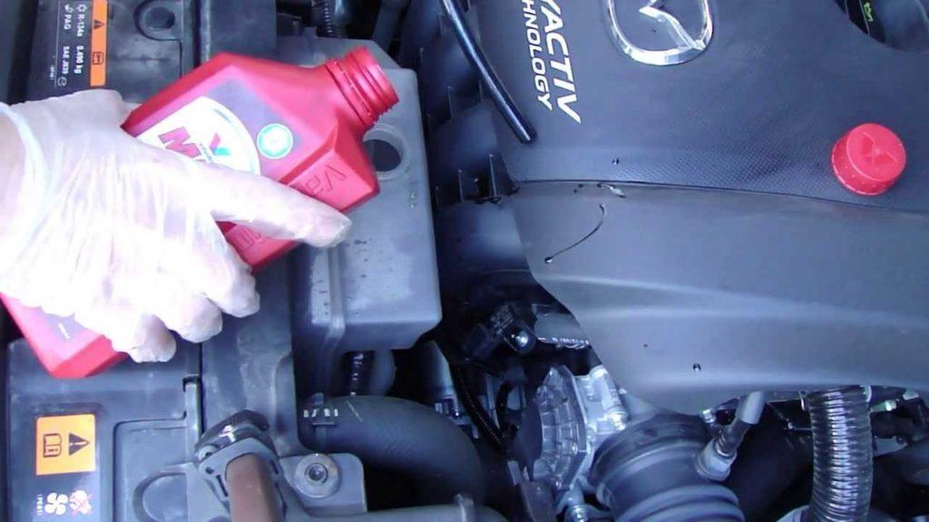 Vehicle engine coolant