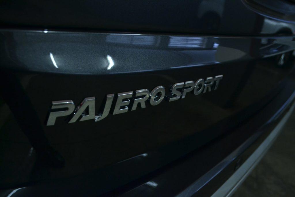 Mitsubishi Pajero Sport badge